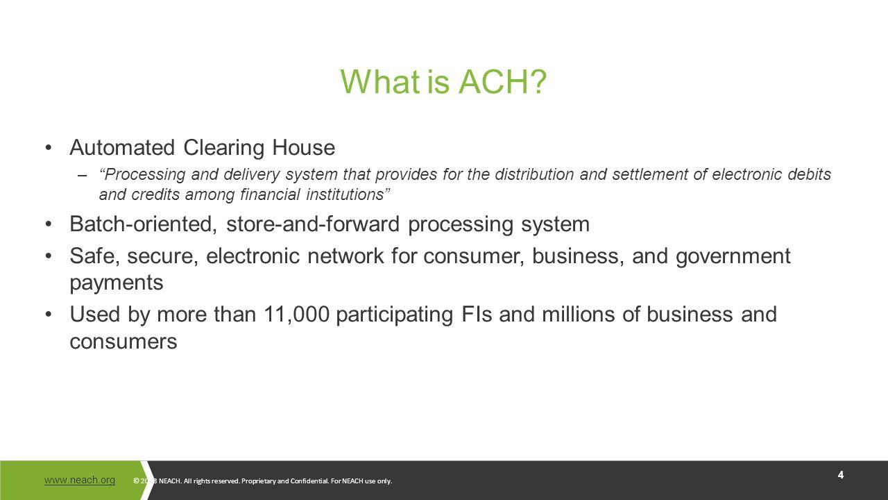 BCAC –ACH Risk Management - ppt video online download