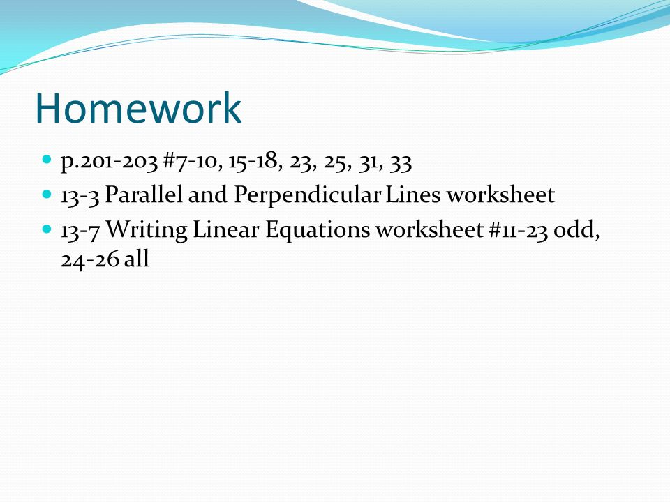 Equations of Lines in the Coordinate Plane - ppt video online download