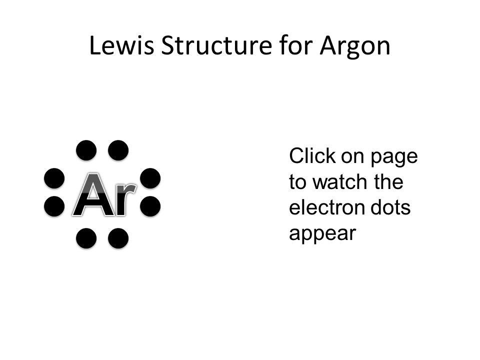 Argon Dot Diagram Wiring Center