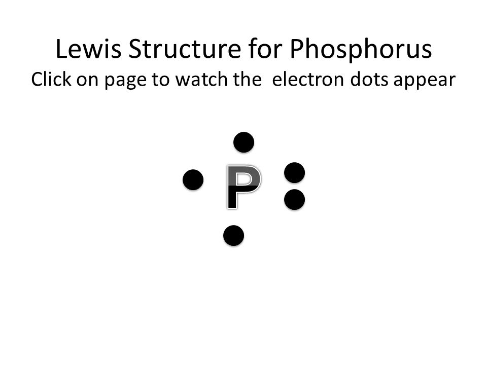 Element Dot Diagram Of Phosphorus Diy Wiring Diagrams
