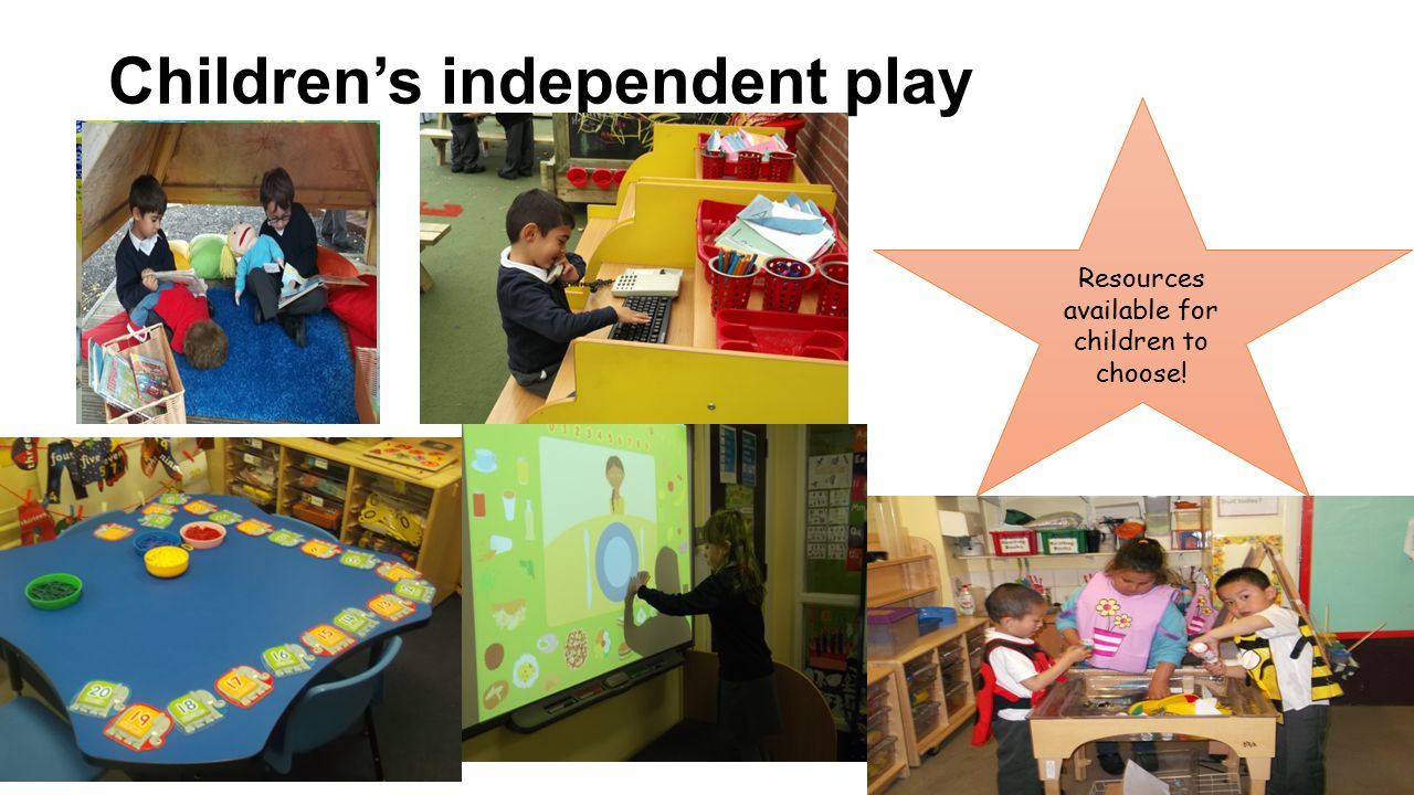 Children's independent play