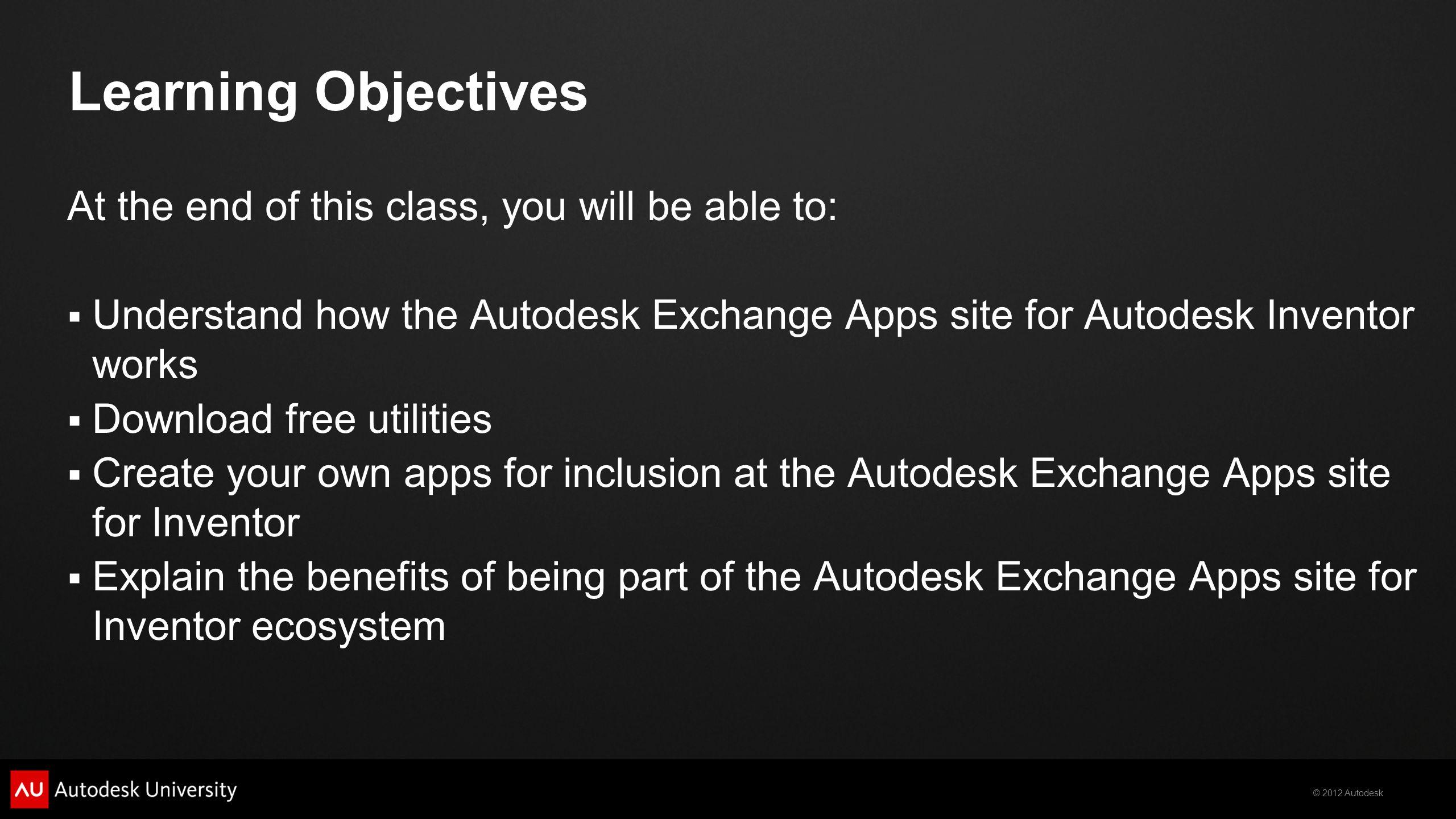 Top 10 Autodesk® Inventor® Exchange Apps - ppt download