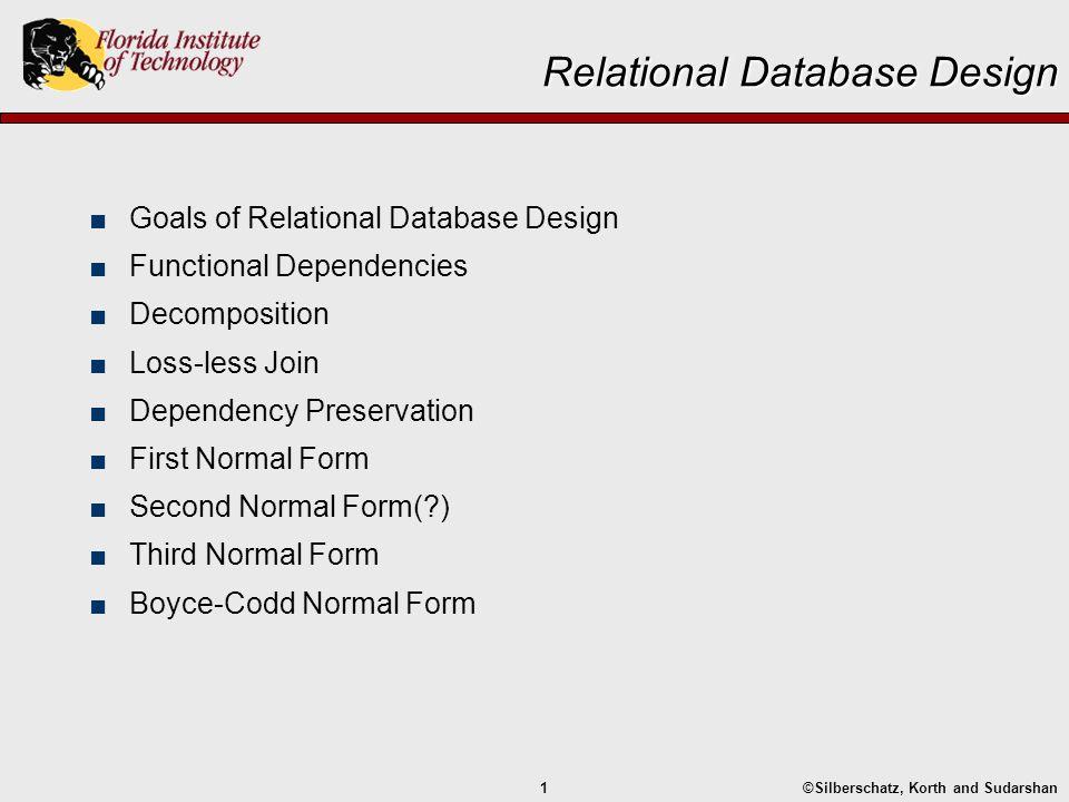 Relational Database Design Ppt Download