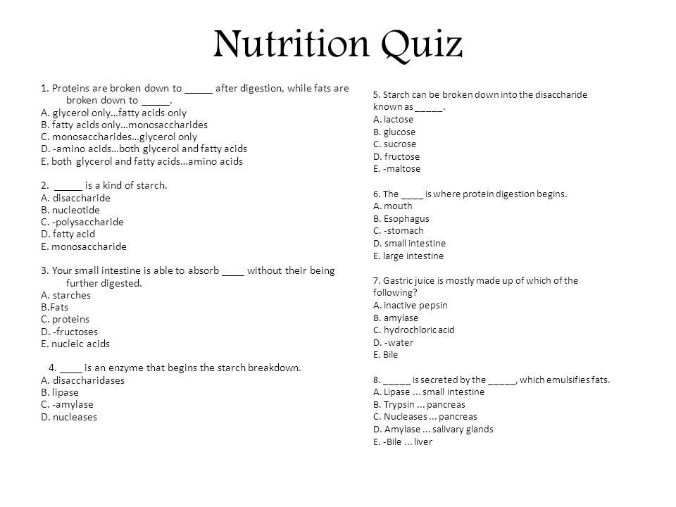 It's just a picture of Challenger Printable Nutrition Quizzes