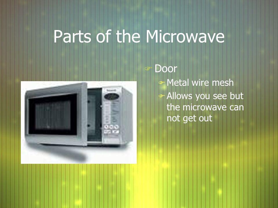 Parts Of The Microwave Door Metal Wire Mesh