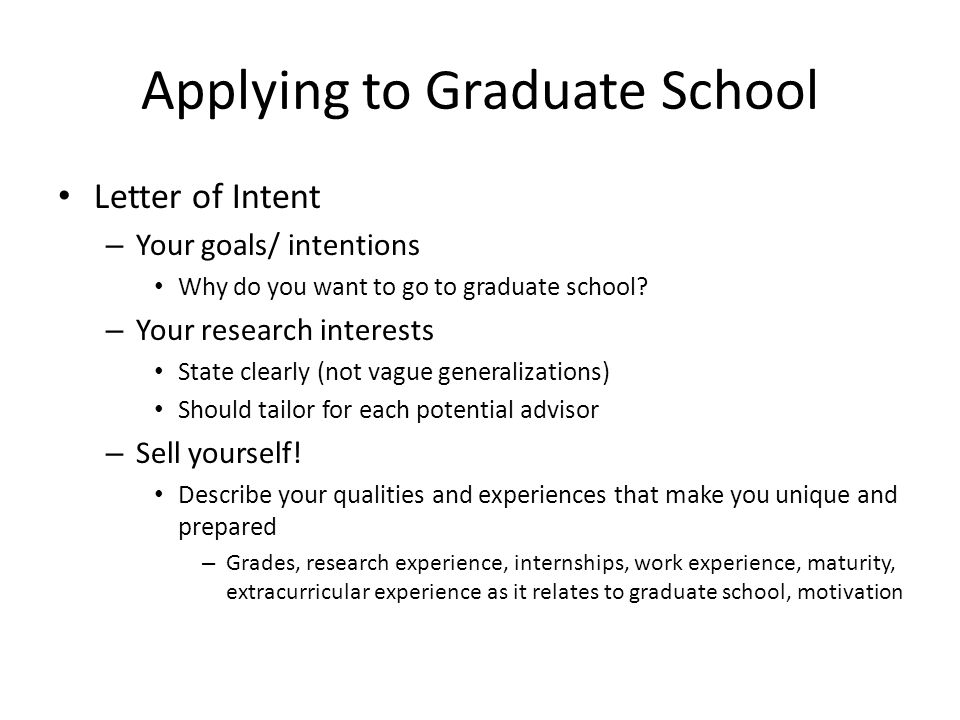 How to Go to Graduate School ppt video online