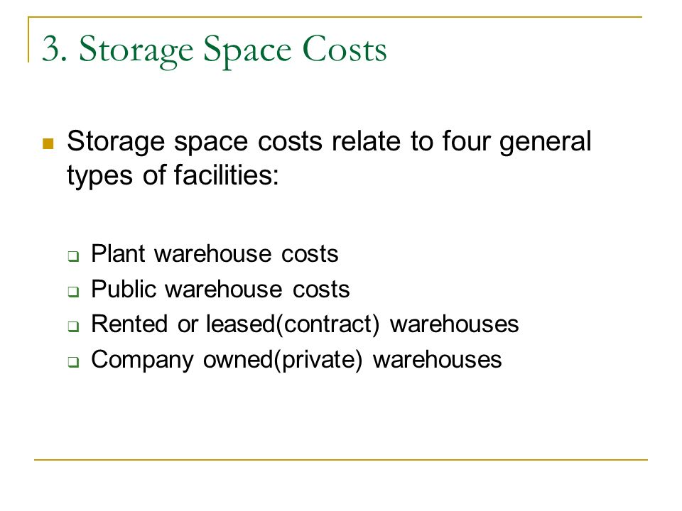 Contract Warehouse Company