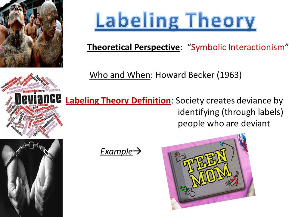 labeling theory and its impact Spin labeling ii: theory and applications covers spin-labeled biopolymers and its importance to both macromolecular modeling as well as some industrially based problems the book discusses the methods of saturation-transfer spectroscopy the spin-probe-spin-label method and new aspects of nitroxide chemistry.