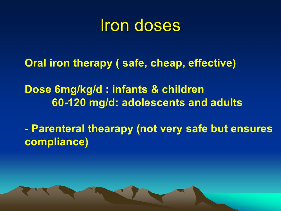 alternate day oral iron therapy - 960×720