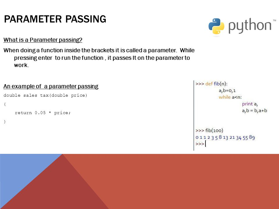 Python quick start guide - ppt video online download