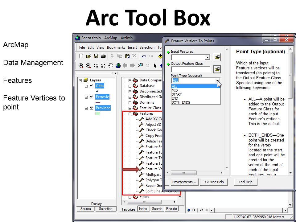 Using ESRI ArcGIS 9 3 Arc Tool Box 1 Data Management - ppt video