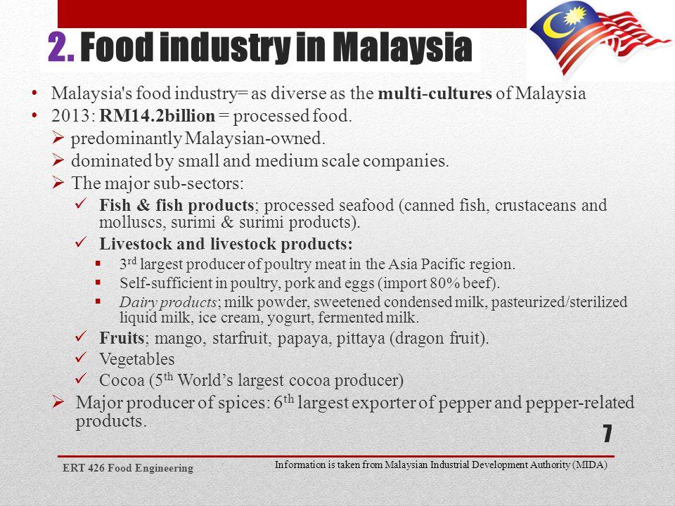 Food industry companies in malaysia