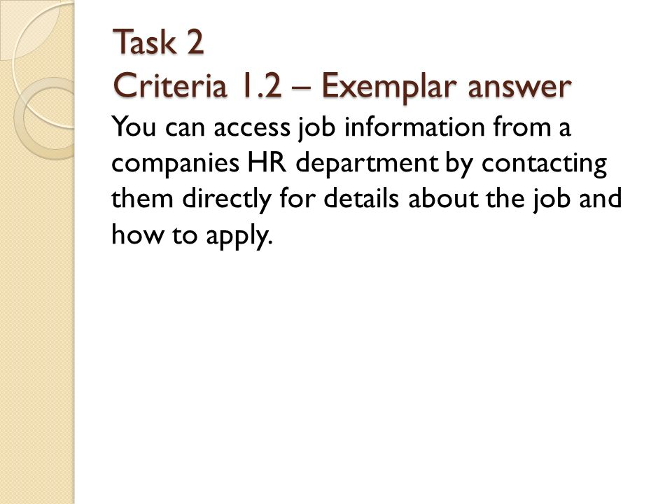 Unit 5 Applying For A Job Ppt Download