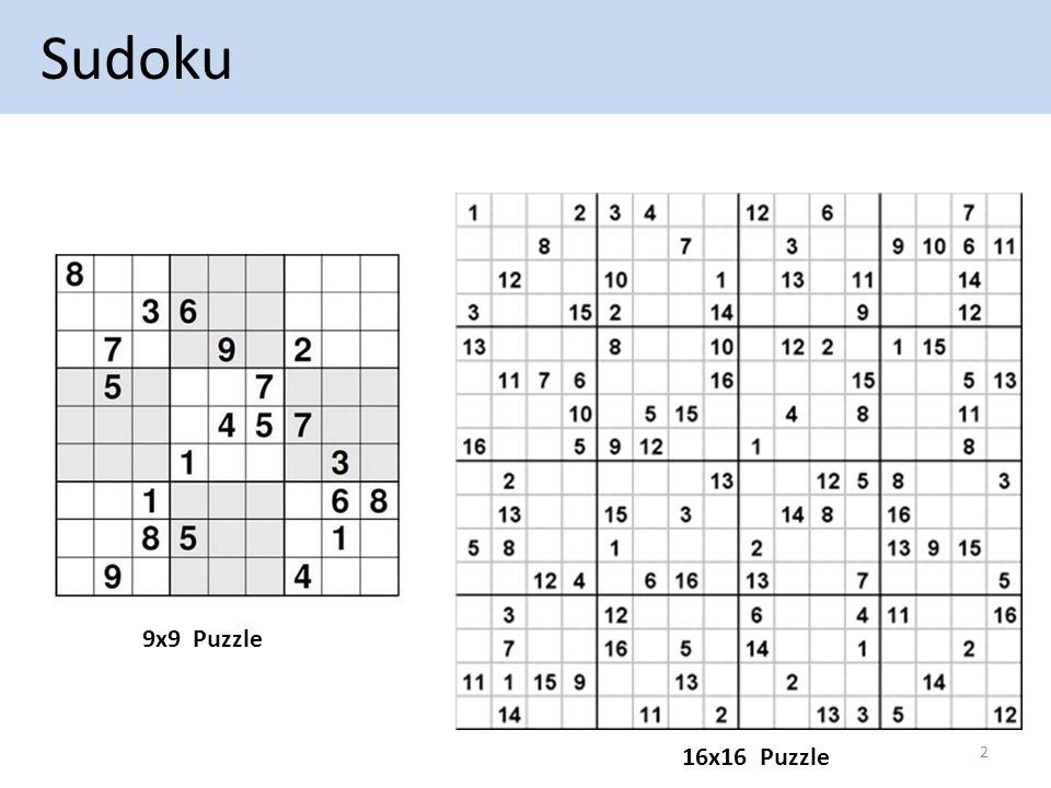 Solving a Sudoku in Parallel - ppt download