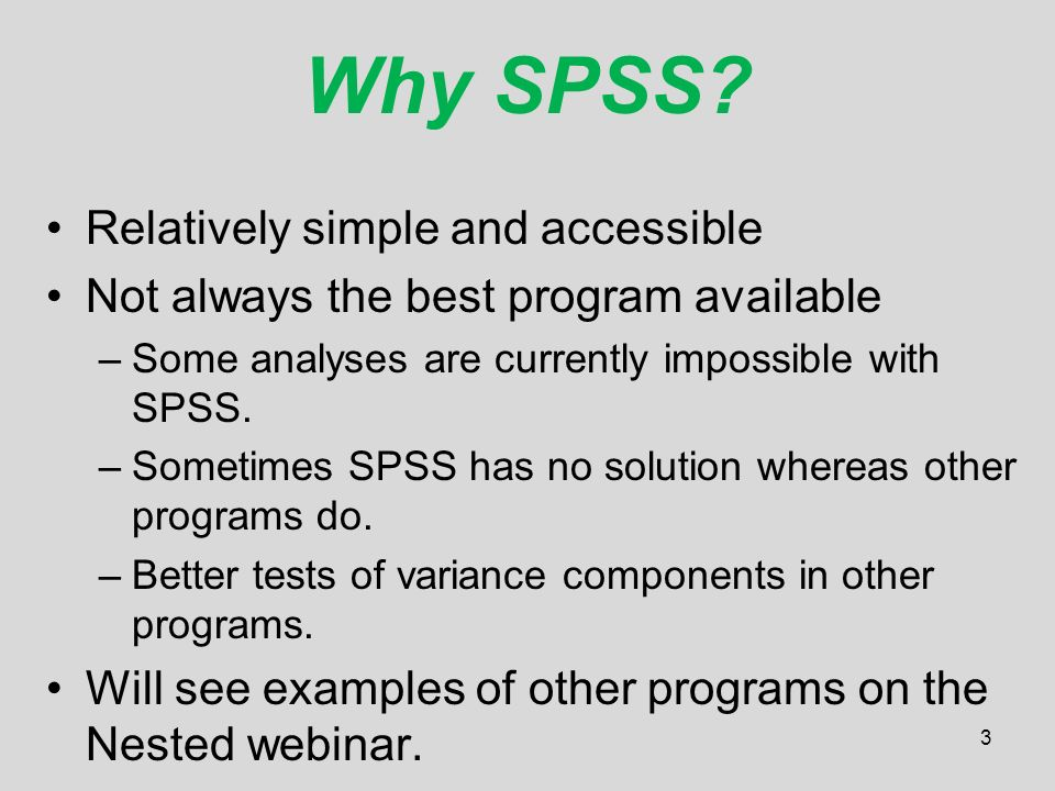 Introduction to Multilevel Modeling Using SPSS - ppt video