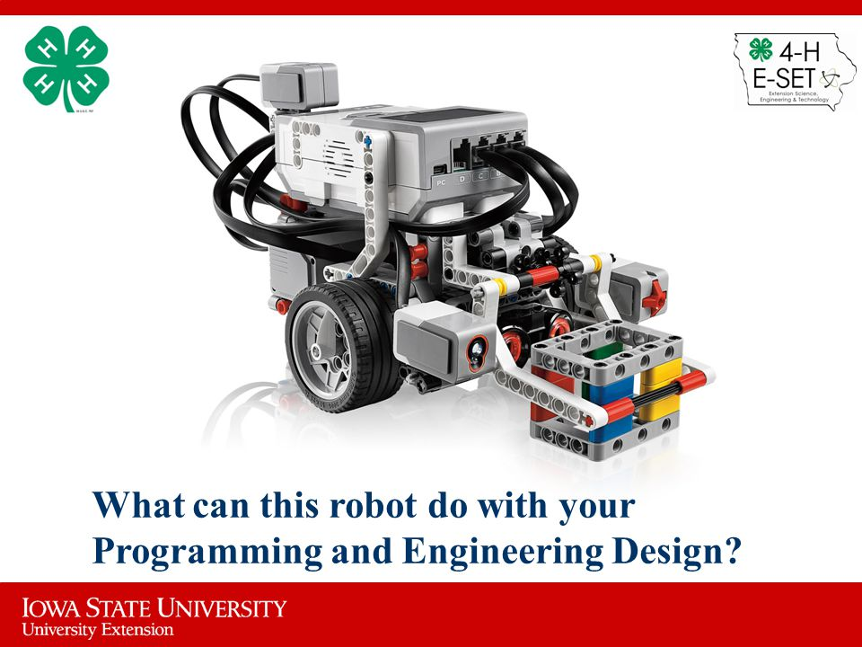 What can this robot do with your Programming and Engineering Design