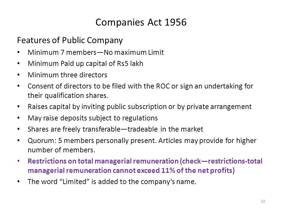 public undertaking companies