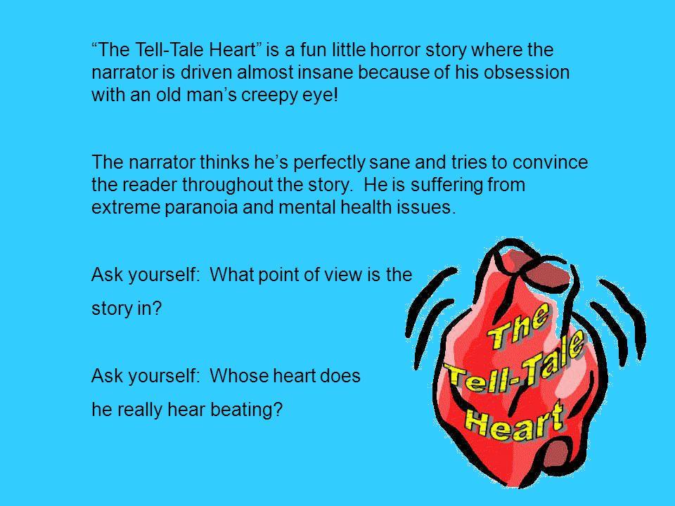 tell tale heart short story pdf
