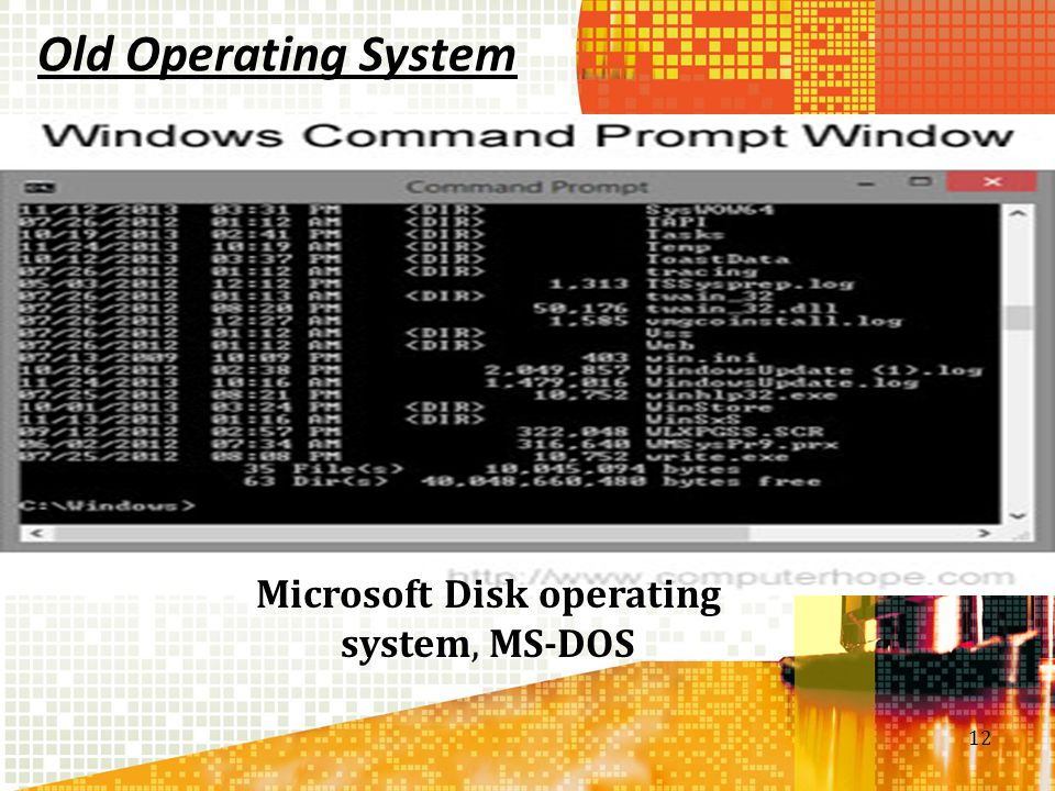 Microsoft Disk operating system, MS-DOS