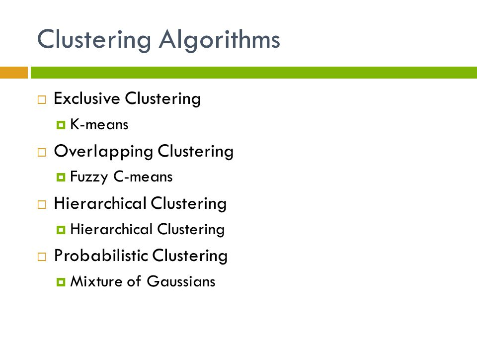 Hierarchical clustering & Graph theory - ppt video online