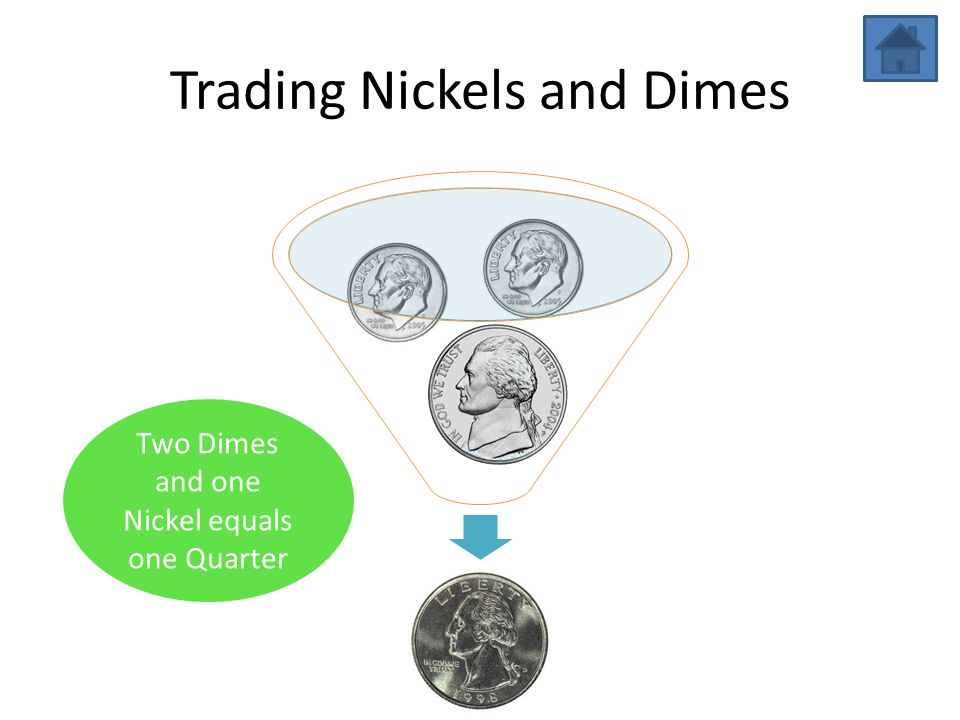 Trading Nickels and Dimes