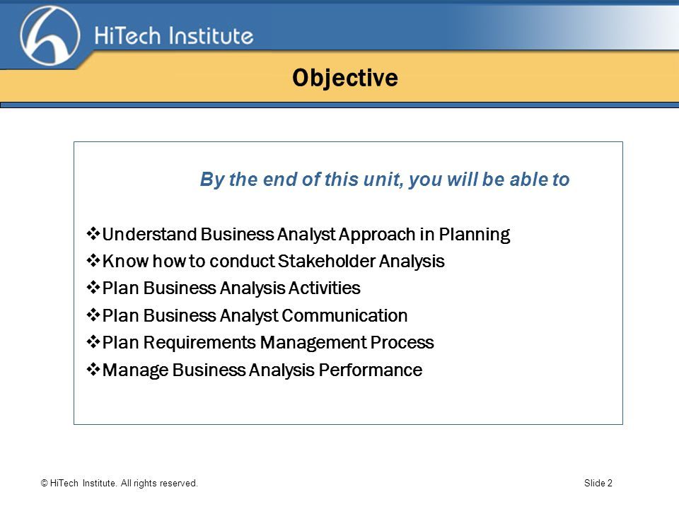 what is the purpose of a business analysis communication plan