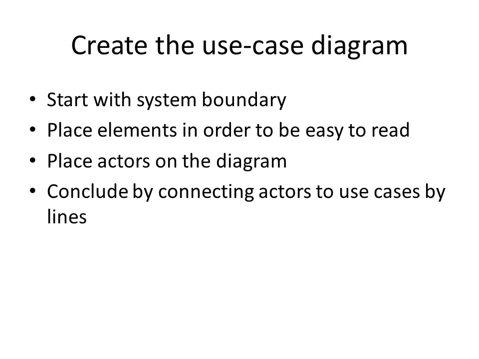 Use case model ppt video online download create the use case diagram ccuart Gallery