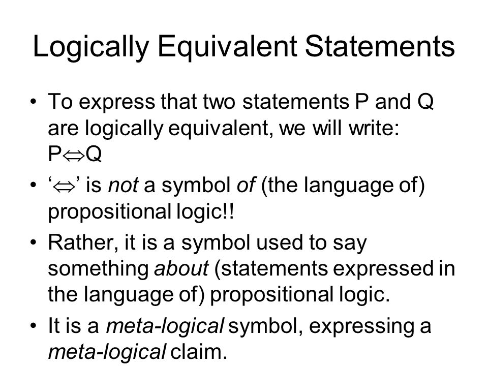 Propositional Logic Review Ppt Video Online Download