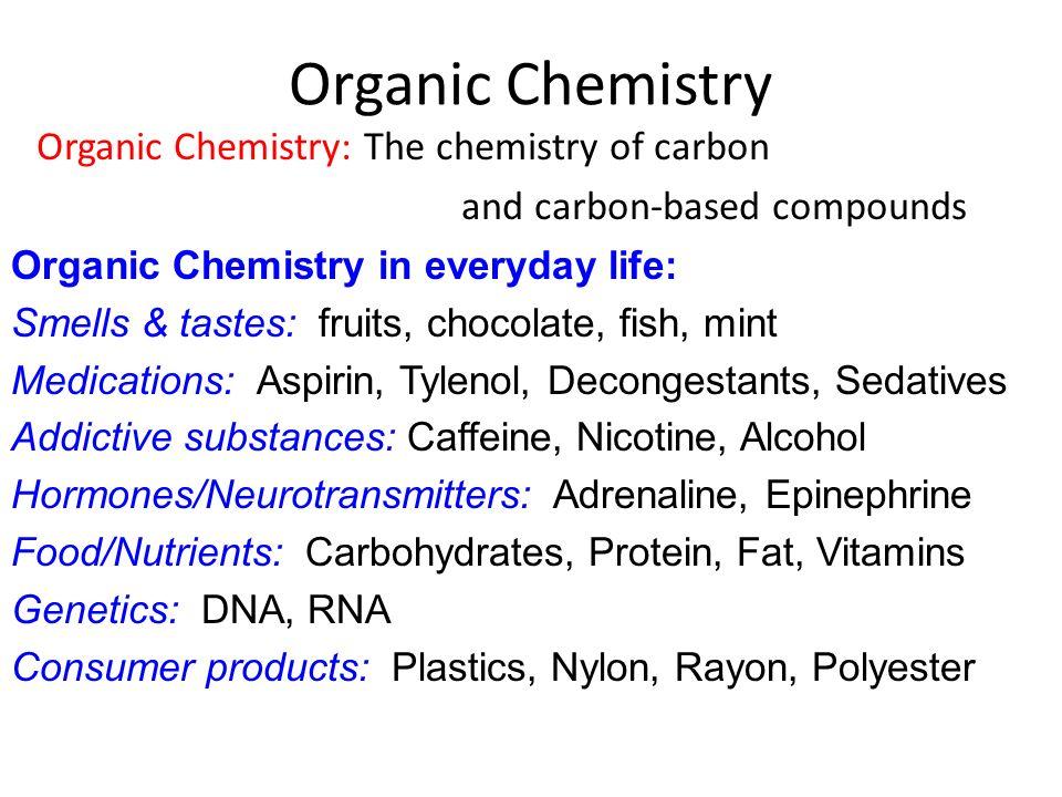 Organic Chemistry In Food