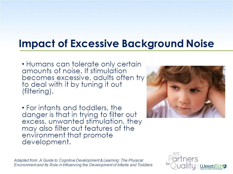 Impact of Excessive Background Noise