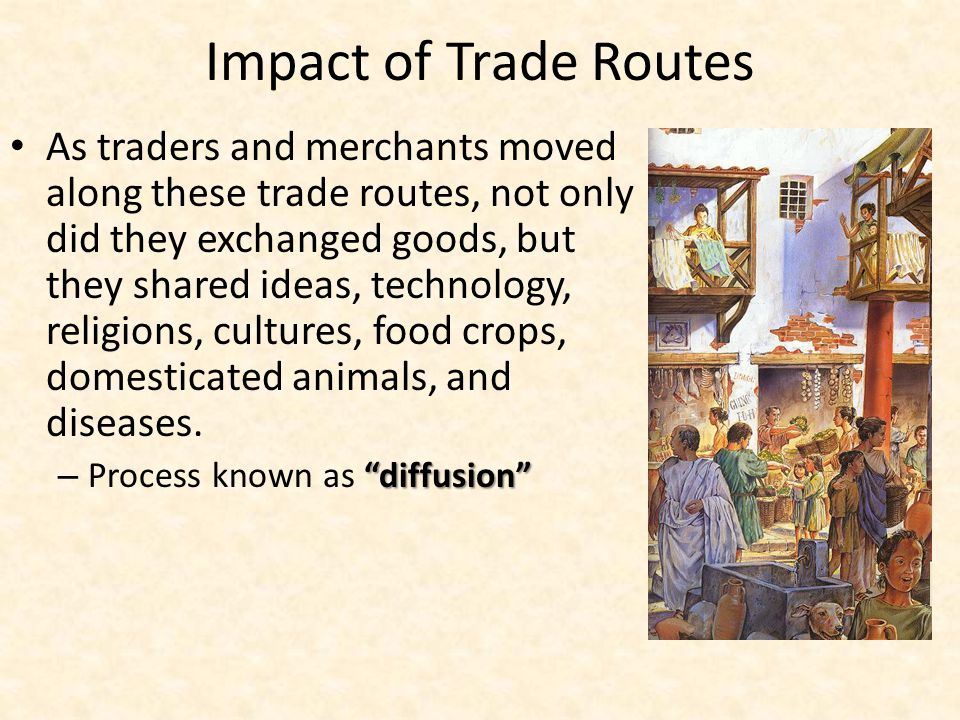 Impact of Trade Routes