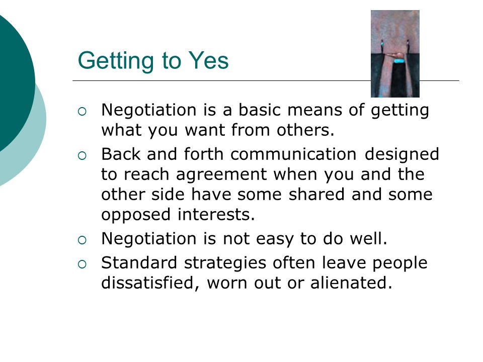 Getting To Yes Negotiating Agreement Without Giving In Ppt Video