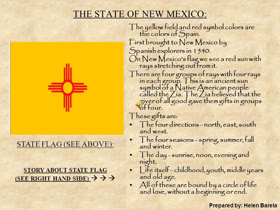 The State Of New Mexico Ppt Download