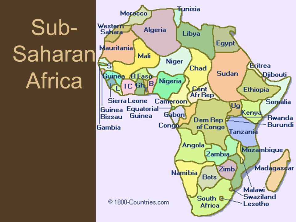 compare and contrast the roles of women in latin america and sub saharan africa during the period fr The decolonization of north africa, and sub- saharan africa took place in the mid-to-late 1950s, very suddenly, with little preparation there was widespread unrest and organized revolts, especially in french algeria, portuguese angola, the belgian congo and british kenya.
