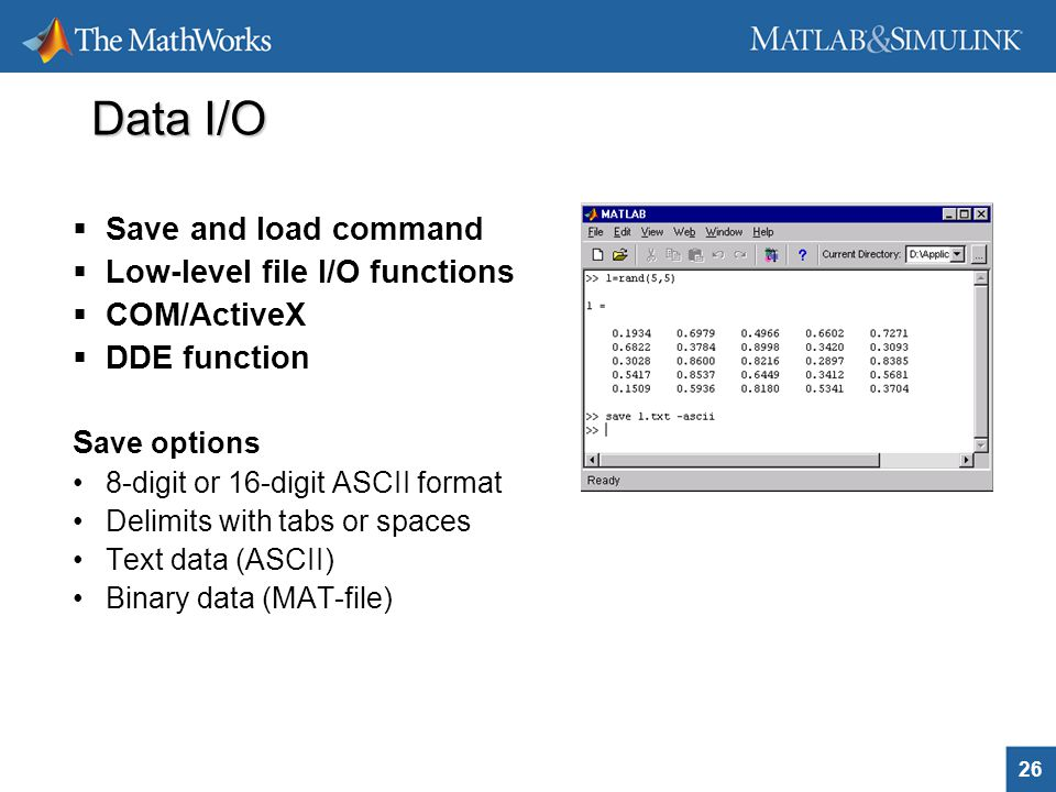 import data and analysis with matlab pdf