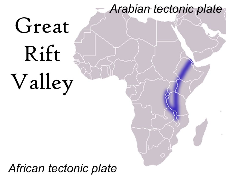 Great Rift Valley In Africa Map | Jackenjuul