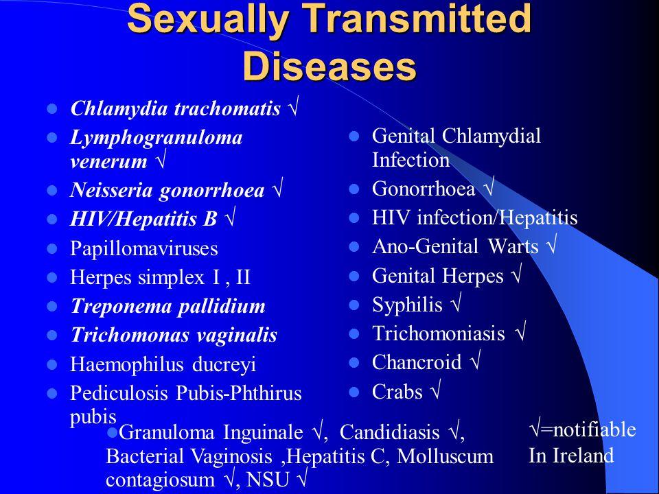 gonorrhoea trichomonas