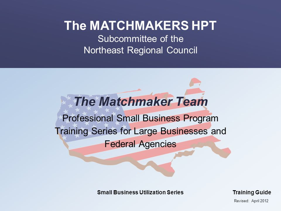 matchmaking company definition