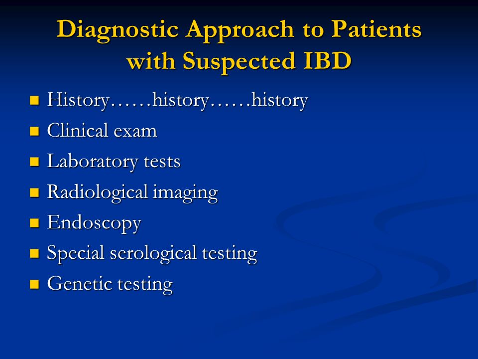 Inflammatory Bowel Disease 4th Year Ms Ppt Video Online