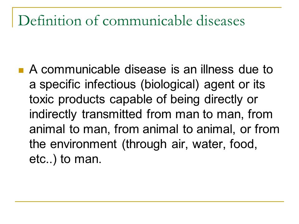 Difference between communicable and non-communicable disease (with.