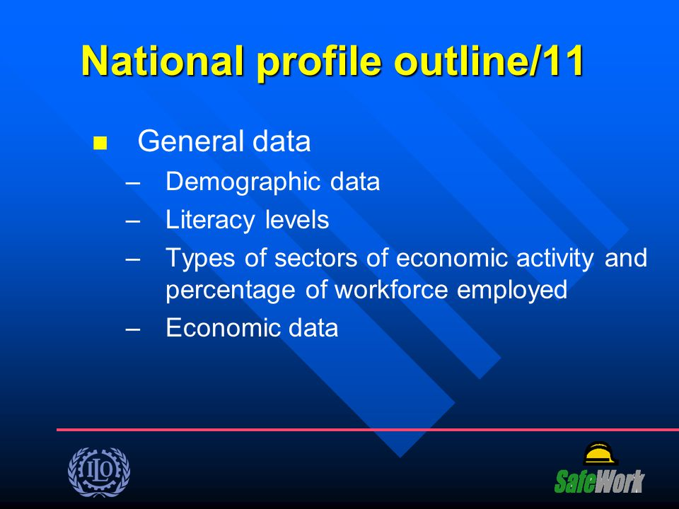 National profile outline/11