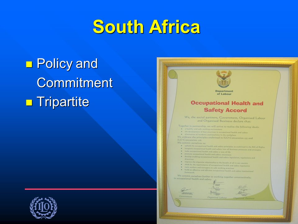 South Africa Policy and Commitment Tripartite