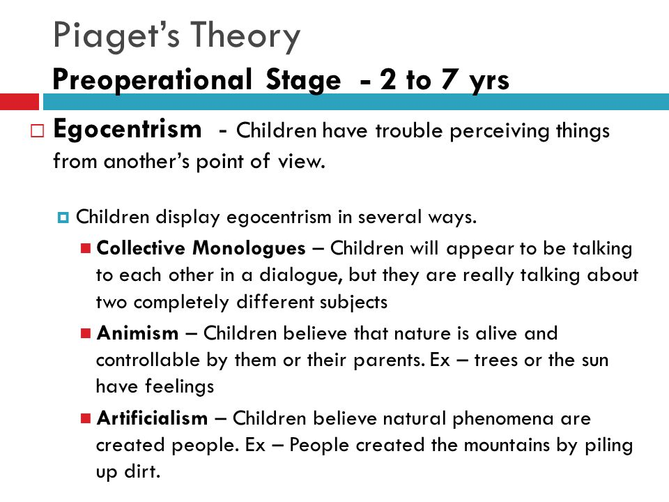stages of piagets theory