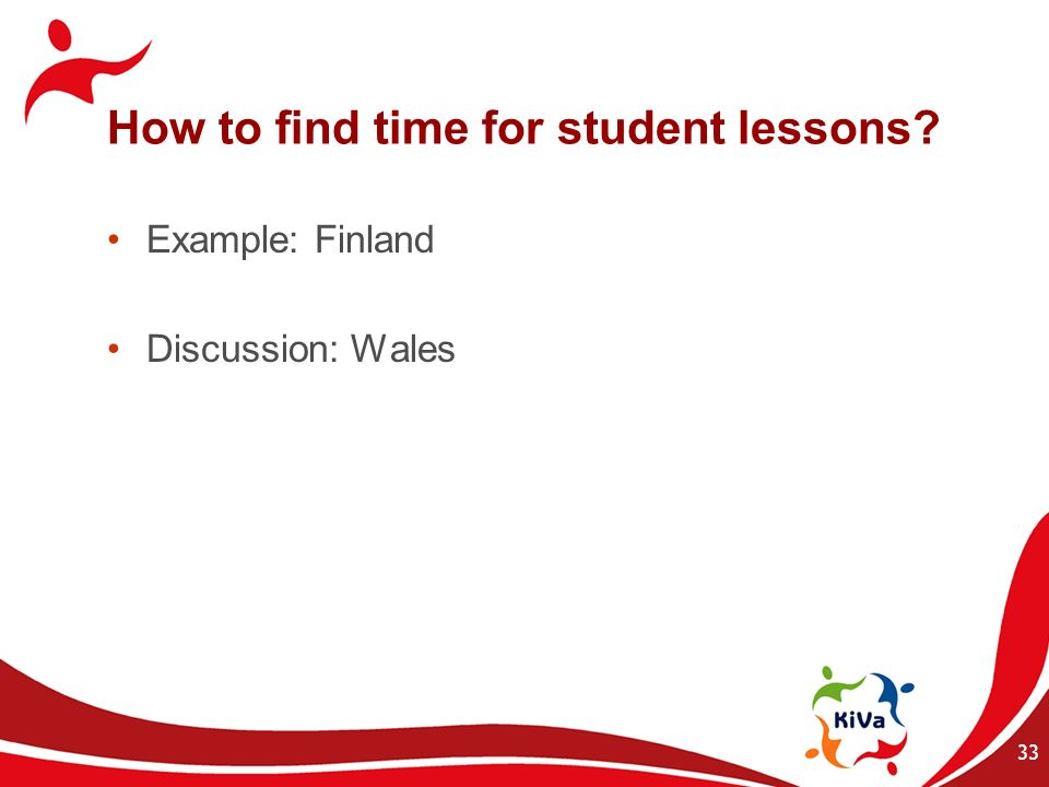How to find time for student lessons