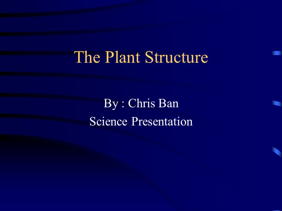 by chris ban science presentation ppt download