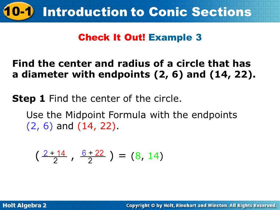( , ) = (8, 14) Check It Out! Example 3