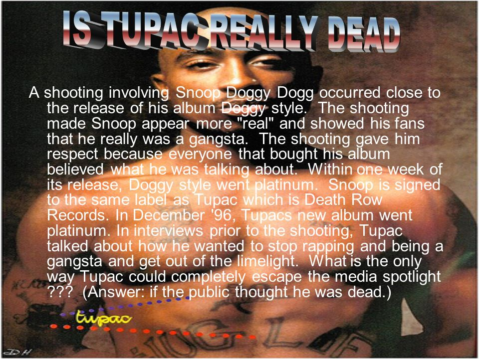 2PAC 2PAC AND HIS LIFE  - ppt video online download