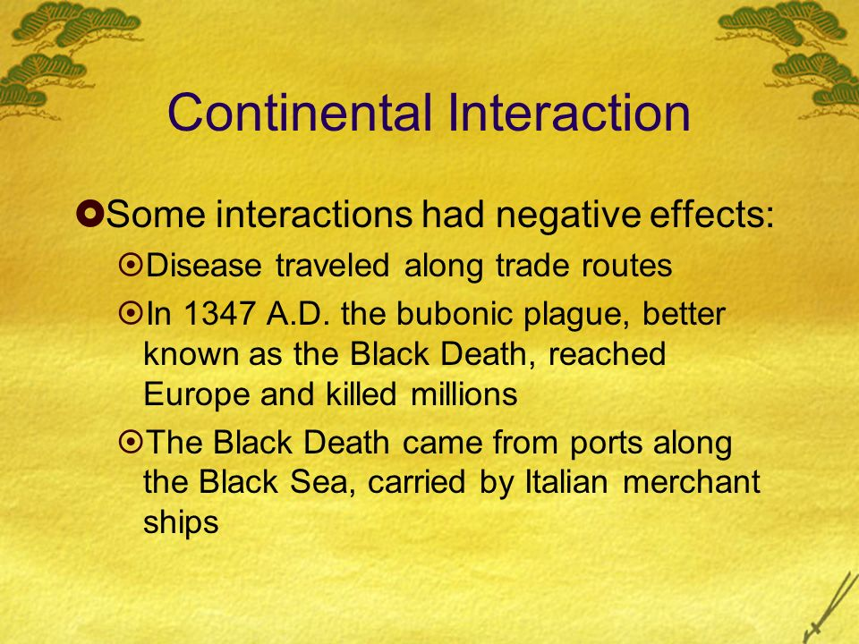 Continental Interaction