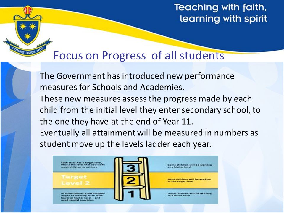 Focus on Progress of all students