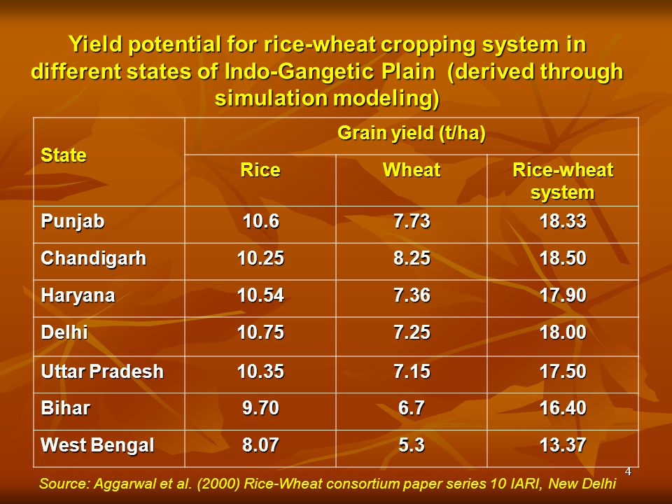 Rice Production and Productivity - ppt video online download